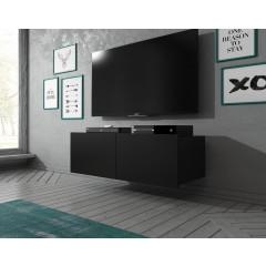 TV-Meubel Calgary - Mat Zwart - 100 cm - Staand of Hangend