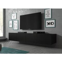 TV-Meubel Calgary - Mat Zwart - 200 cm - Staand of Hangend