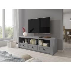 TV-Meubel Parello - Grijs - 160 cm