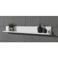 Wandplank Verity - Wit - 140 cm