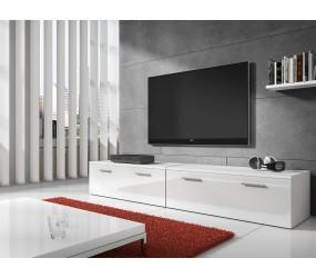 Dressoir dali 1 wit dressoirs kasten en for Witte meubels woonkamer