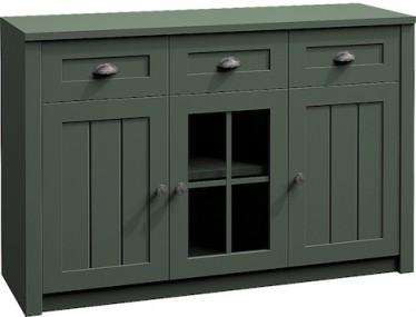 Dressoir Parello 1 - Groen - 130 cm - ACTIE