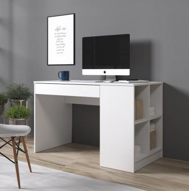 Bureau Anna - Wit - 120 cm