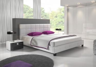 Bed James - Wit - 140x200 cm