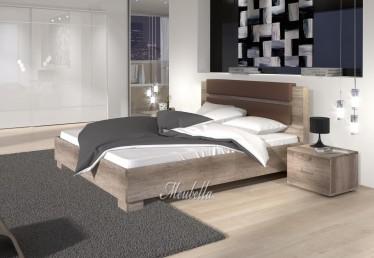 Bed Misty - Eiken - 160x200 cm
