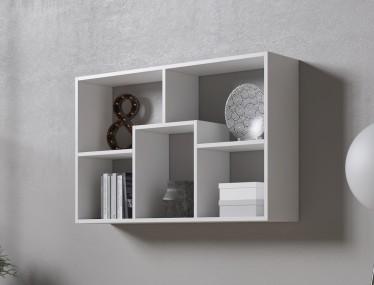 Boekenkast Duno 2 - Wit - 97 cm