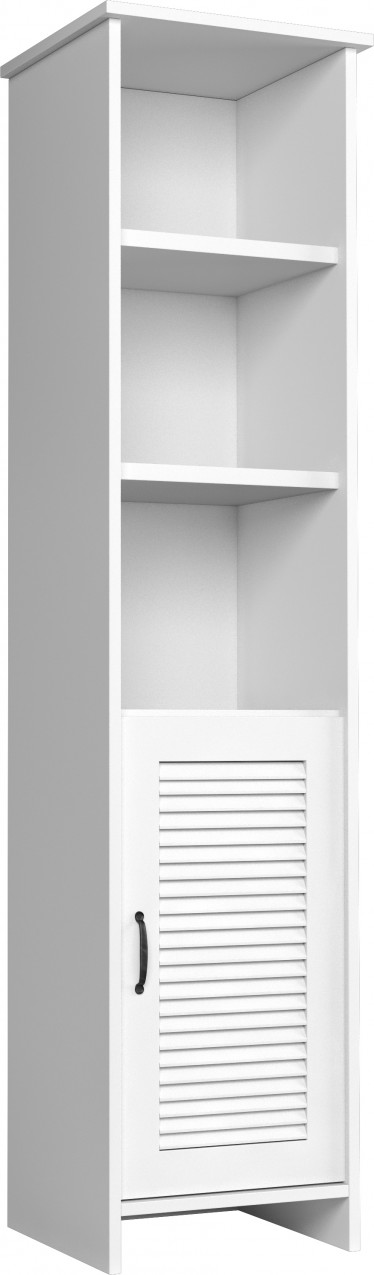 Boekenkast Oase - Wit - 49 cm