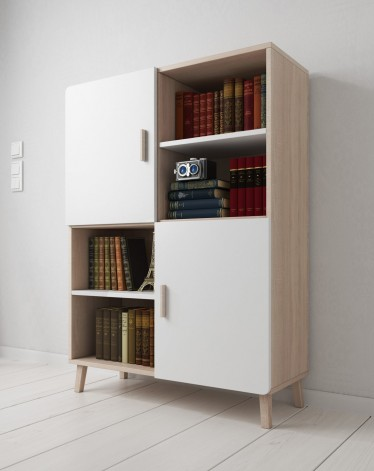 Kast Woonkamer Wit. Perfect Compleet Wandmeubel In De Woonkamer With ...