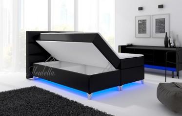 boxspring kopen boxsprings meubella. Black Bedroom Furniture Sets. Home Design Ideas