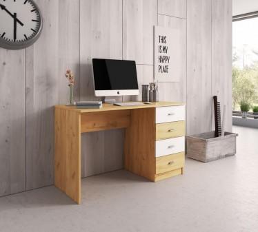 Bureau Lexi - Eiken - 120 cm