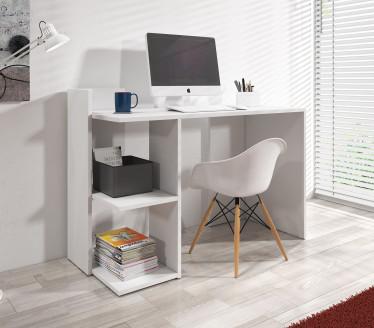 Bureau Pierre - Wit - 120 cm