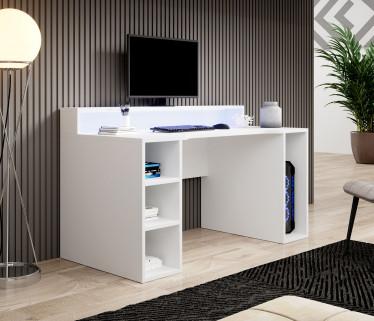 Bureau Tamara - Wit - RGB LED - 160 cm - ACTIE