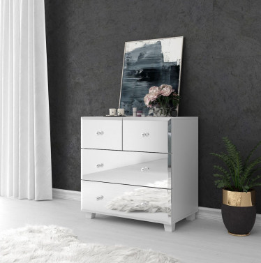 Commode Borneo - Wit - 72 cm
