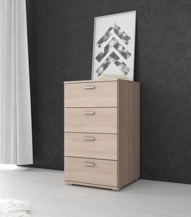 Commode Dento - Licht eiken - 50 cm