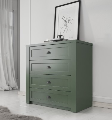 Commode Parello - Groen - 88 cm