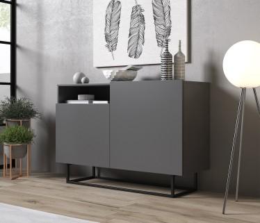 Dressoir Eos - Grijs - 120 cm
