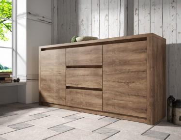 Dressoir Monaco - Eiken - 140 cm