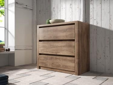 Dressoir Monaco - Eiken - 90 cm