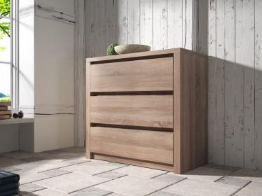 Dressoir Monaco - Truffel eiken - 90 cm