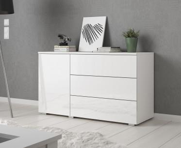Dressoir Pure - 111 cm - Wit