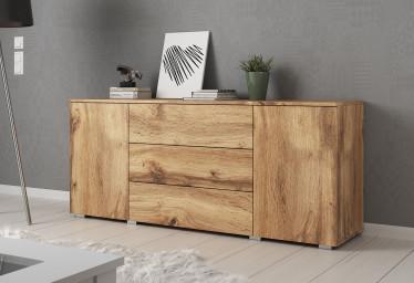 Dressoir Pure - 150 cm - Eiken