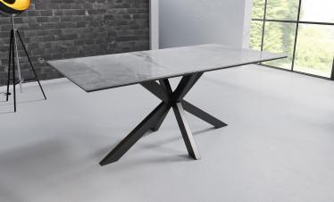 Eetkamertafel Octavia - Marmer - Lichtgrijs - 180 cm