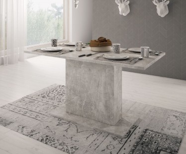 Eetkamertafel Olymp - Beton - 138 cm - ACTIE
