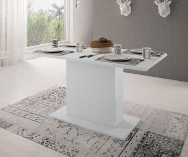 Eetkamertafel Olymp - Wit - 138 cm