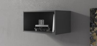 Wandkast Eos - Grijs - 60 cm - ACTIE