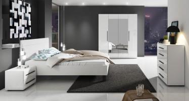 Slaapkamer Hampton 160 - Wit - Groot - ACTIE