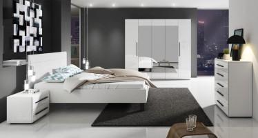 Slaapkamer Hampton 160 - Wit - Groot 2 - ACTIE