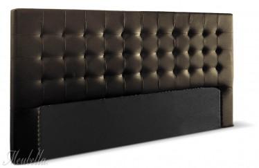 Hoofdbord Atlantic - Bruin - 80 cm