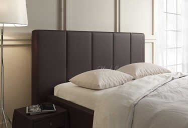 Hoofdbord Vanity - Bruin - 120 cm