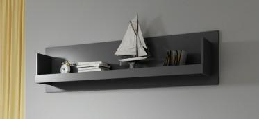 Kinderwandplank Teddy - Grijs - 148 cm