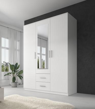 Kledingkast Savona - Wit - 150 cm