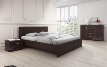 Slaapkamer Malibu 160 - Wenge - Klein