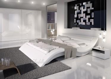 Bed Mallorca - Wit - 140x200 cm - ACTIE