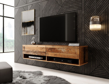 TV-Meubel Asino - Old wood - 140 cm