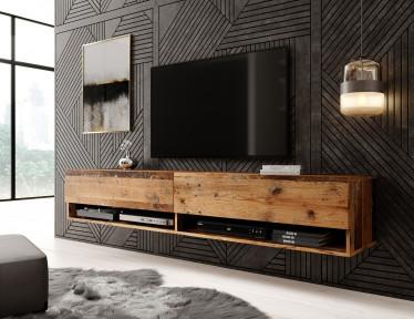 TV-Meubel Asino - Old wood - 180 cm