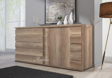 Dressoir Misty 160 - Eiken