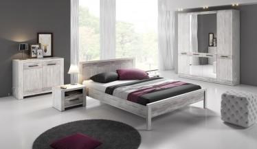 Slaapkamer Portel 160 - Wit - Groot