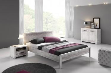 Slaapkamer Portel 160 - Wit - Klein - ACTIE
