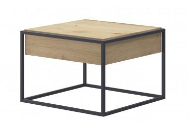 Salontafel Eos - Eiken - 60 cm