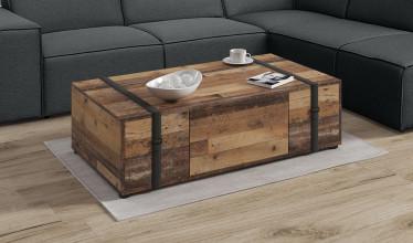 Salontafel  Faber - Old wood - 110 cm
