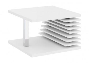 Salontafel Kyaro - Wit - 70 cm