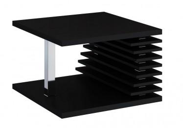 Salontafel Kyaro - Zwart - 70 cm