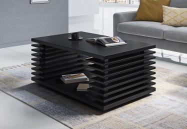 Salontafel Viron - Zwart - 100 cm