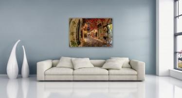 Schilderij Bazaar 100x75