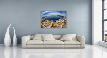 Schilderij Griekenland 75x100 - ACTIE