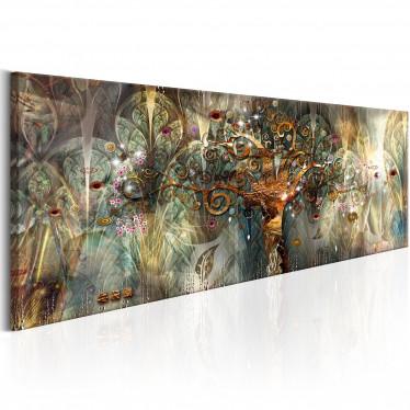 Schilderij Land of Happiness - 120x40 cm